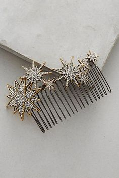 Hair Accessories for Women String Of Stars Barrette – gorgeous celestial wedding hair accessory Fall Accessories, Hair Accessories For Women, Bridal Hair Accessories, Jewelry Accessories, Fashion Accessories, Celestial Wedding, Star Hair, Christmas Fashion, Barrette