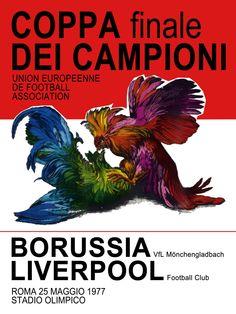 '77 finals: liverpool v borussia