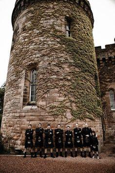Scottish Wedding Groomsmen