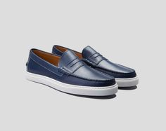 A penny loafer boat shoe mix that's ready for a Vespa or a vaporetto. We promise you don't have anything like it in your closet.