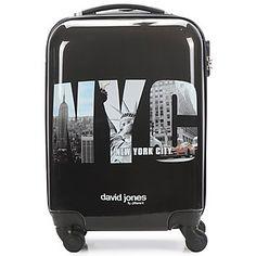¡Lleva contigo en todos tus viajes el estilo US con esta maleta rígida de David…