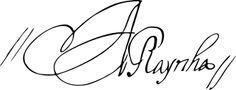 Maria Anna of Austria's signature