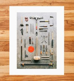 Timber Framer Tools Taxonomy Photo Print by Mandy Mohler Photography on Scoutmob