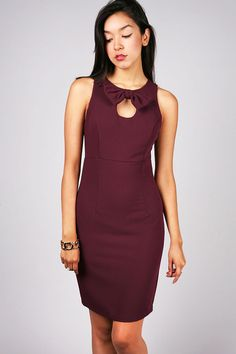 Bow Poised Dress | Cocktail Dresses at Pink Ice #cocktaildresses #partydresses #bowdresses