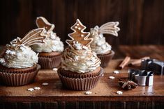 Hrnčekové perníkové cupcakes | Recepty.sk