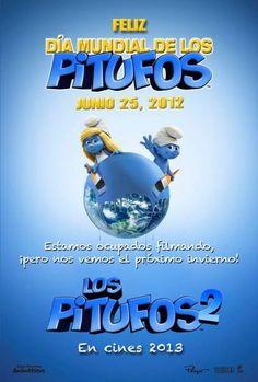 ver Los Pitufos 2 (The Smurfs 2) 2013 online descargar HD gratis español latino subtitulada