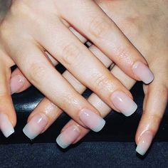Acrylic nails natural
