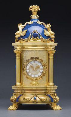 Patek Philippe dome clock made in 1980 1191 MVT 11534 case 1803537 Antique Desk, Antique Clocks, Patek Philippe, Classic Clocks, Unusual Clocks, Silver Teapot, Wall Clock Online, Retro Clock, Desk Clock