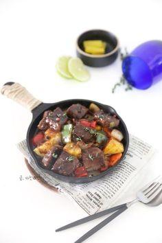 맛있는 찹스테이크 만들기 : 네이버 블로그 Iron Pan, Beef, Kitchen, Food, Meat, Cuisine, Meal, Eten, Home Kitchens
