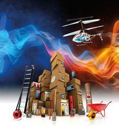 Beeldbewerking Kelfort Helicopter Actie