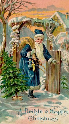 This is a collection of my favorite Vintage Christmas Greeting Cards that I collected over the years. Vintage Christmas Images, Old Christmas, Old Fashioned Christmas, Christmas Scenes, Victorian Christmas, Father Christmas, Vintage Holiday, Christmas Pictures, Primitive Christmas