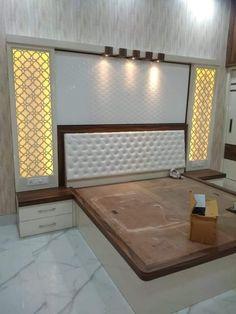 Bedroom Closet Design, Bedroom Furniture Design, Bed Furniture Design, Room Design Bedroom, Wooden Bed Design, Bedroom False Ceiling Design, Bedroom Bed Design, Bed Design, Modern Bedroom Interior