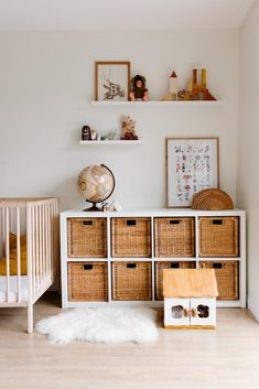 floating shelves in children bedroom with wooden furniture and toys #wood #woodshelf #DIY Kids Bedroom, Bedroom Decor, Kids Rooms, Wall Decor, Wooden Furniture Bedroom, Room Kids, Bedroom Colors, Bedroom Wall, Furniture Ideas