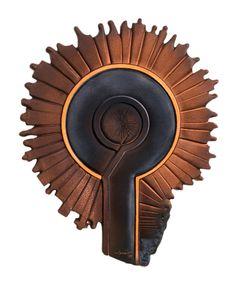Kemal ULUDAĞ, 1997, Circle 3 - Döngü 3, 70x53x5 cm. Stoneware-1200 °C