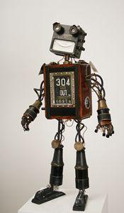 Phenomenal robot art.