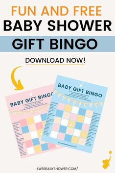 Everyone loves a fun baby shower game, especially one that is FREE and a perfect baby shower gift! If you're after a free baby shower gift, click here to download this fun baby shower bingo game gift.  #BabyShowerGift #BabyShowerBingo #FreeBabyShowerGames #LongDistanceBabyShower Free Baby Shower Games, Baby Shower Bingo, Baby Shower Printables, Baby Shower Gifts, Baby Gifts, Fun Gifts, Girl Shower, Baby Boys, Fun Baby
