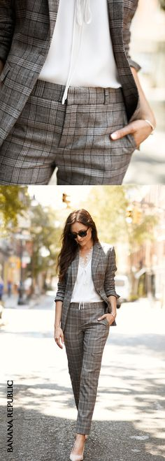 Suit Sets: When high quality wool pants with just a hint of stretch pair with our structured yet supersoft blazers.
