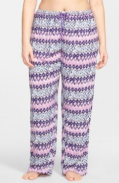 Plus Size Women's PJ Salvage 'Challe' Pajama Pants