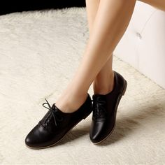 New fashion lace up women shoes oxford shoes for women flats casual ladies shoes zapatos mujer 2015 spring plus size 34-47