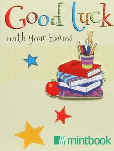 Some believe in good luck charms and superstitions when it comes to exams. What is your good luck charm for exams?
