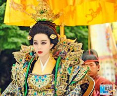 "New stills of TV drama ""The Empress of China"" are released on Jan. 30, 2015. (Source: Xinhuanet)"