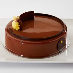 Alessandro Bartesaghi: #Hazelnut #passionfruit and #caramel @callebautoz #entremet - Vote for your favourite! Winning competitors product to receive a #standmixer from @kitchenaidausnz #savourcomp #pastry #pastrychef #callebaut @rwphoto by savourpatissieroftheyear