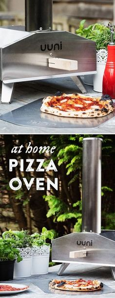 Uuni 3 outdoor wood fired pizza oven heats up quickly and cooks pizza, meat, veggies, and more super fast. Learn about all the dishes this pizza oven can make. Four A Pizza, Large Pizza, Outdoor Oven, Outdoor Cooking, Stainless Steel Oven, Diy Bird Feeder, Wood Fired Pizza, Dishes, Pizza Ovens