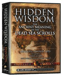 HIDDEN WISDOM: The Ancient Meaning of the Dead Sea Scrolls - 4 CD-Set AUDIO Adventure