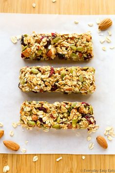 Healthy Homemade Granola Bars – If you want satisfy your snack cravings.