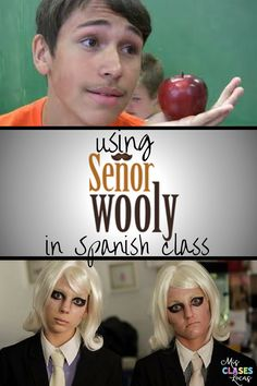 Using Sr. Wooly in Spanish class This year I tried a few new (to me) things. The one that I honestly can not believe that I had not used b...