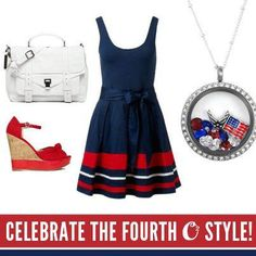 Cute Fourth of July Outfit  www.livelocketlove.origamiowl.com