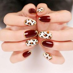 How to Make People Feel Wild and Elegant, Try leopard Nail Designs Leopard Nail Designs, Leopard Nail Art, Leopard Print Nails, 3d Nail Art, 3d Nails, Cool Nail Art, Swag Nails, Cute Nails, Nail Art Designs