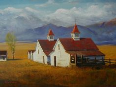 SOLD I Sangre Sun I 16x22 I Dix Baines I Fine Artist Original Oil Paintings I Mountains I Sangre Mountains I www.dixbaines.com