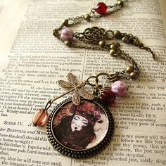Necklace  Bliss by Minasmoke on Etsy, $26,80