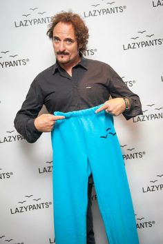 Even bad-ass SoA actor Kim Coates likes to cozy up in a pair of Core Blue Lazypants #StayLazy   available soon at www.mayfairfifth.co.uk