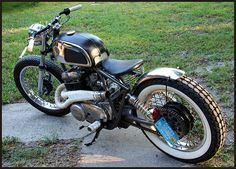 Custom Vintage Motorcycles • Finished Projects