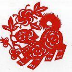 十二生肖 猪设计图_剪纸_传统文化_文化艺术_设计图库_昵图网nipic.com