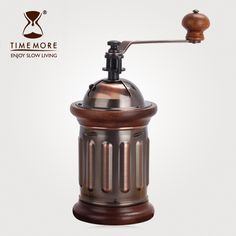 Household hand coffee bean grinders manual grinder production retro >>> Check this awesome product by going to the link at the image. Manual Coffee Grinder, Coffee Grinders, Slow Living, Coffee Beans, Coffee Shop, Household, Retro, Taiwan, Tableware