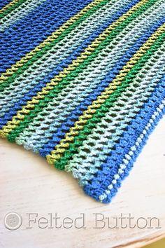 Irish Sea Blanket Crochet Pattern