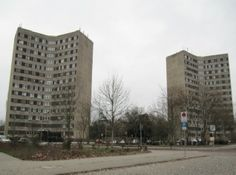 Y-Häuser in Dessau, Stadtpark