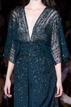 Detailed photos of Zuhair Murad Haute Couture Fall 2015 Elegant Outfit, Elegant Dresses, Beautiful Dresses, Nice Dresses, Batik Dress, Lace Dress, Dress Outfits, Fashion Dresses, Dress Brokat