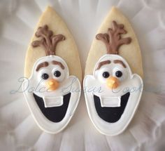 Frozen Movie Cookies | pinned by dolce sugar cookies