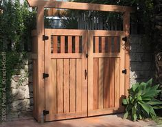 beautiful fence gates - Google Search