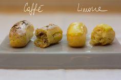 Idee per farcire e glassare i bignè Cannoli, Nutella, Baked Potato, Muffin, Potatoes, Baking, Breakfast, Ethnic Recipes, Morning Coffee