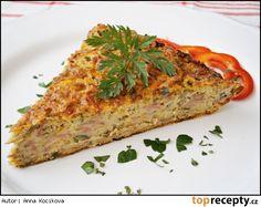 Cuketová sekaná se zeleninou Pumpkin Squash, Czech Recipes, Vegetarian Cooking, Meatloaf, Food Hacks, Quiche, Zucchini, Food And Drink, Veggies