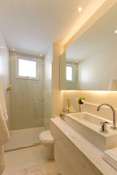 Banheiro da suite do Face Vila Mariana
