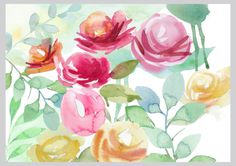 Victoria Nelson - Floral Watercolour Copy