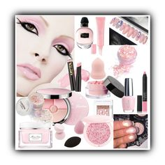 """Pink Makeup"" by lebanese-qv33nv ❤ liked on Polyvore featuring beauty, Alexander McQueen, Beauty Is Life, Guerlain, Christian Dior, Charlotte Russe, Bobbi Brown Cosmetics and NARS Cosmetics"
