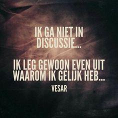 En verder laten we het daarbij. Me Time Quotes, Some Quotes, Words Quotes, Sayings, The Words, Dutch Words, Dutch Quotes, Quote Of The Day, Favorite Quotes