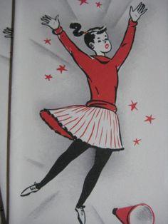 Vintage 50's Cheerleader Cards